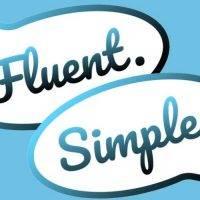 fluent simple logo