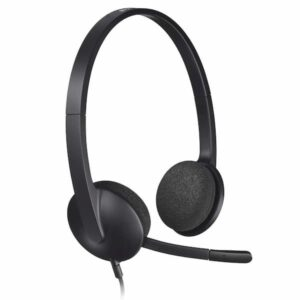 best headset for online tutoring logitech h340