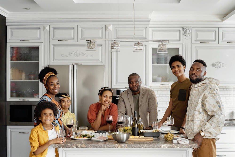 Family in Italian
