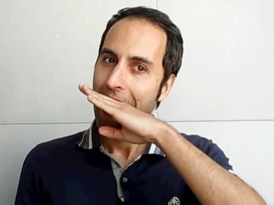 italian hand gesture non mi far parlare