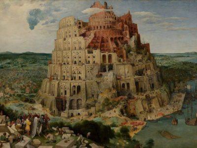 italian short story babylon tower