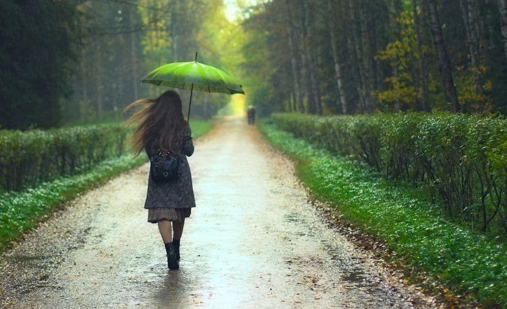 italian short story rain