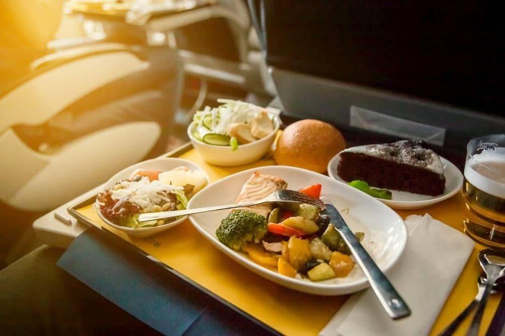 italian story airplane food