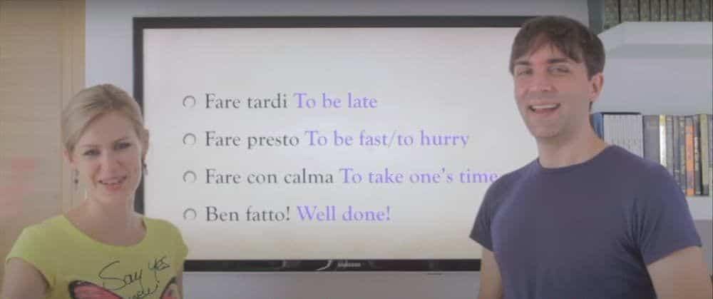 italian video lessons
