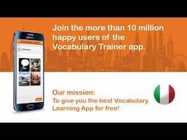 learn italian words free app
