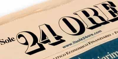 news in italian sole 24 ore