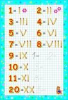 numbers in italian 1 30